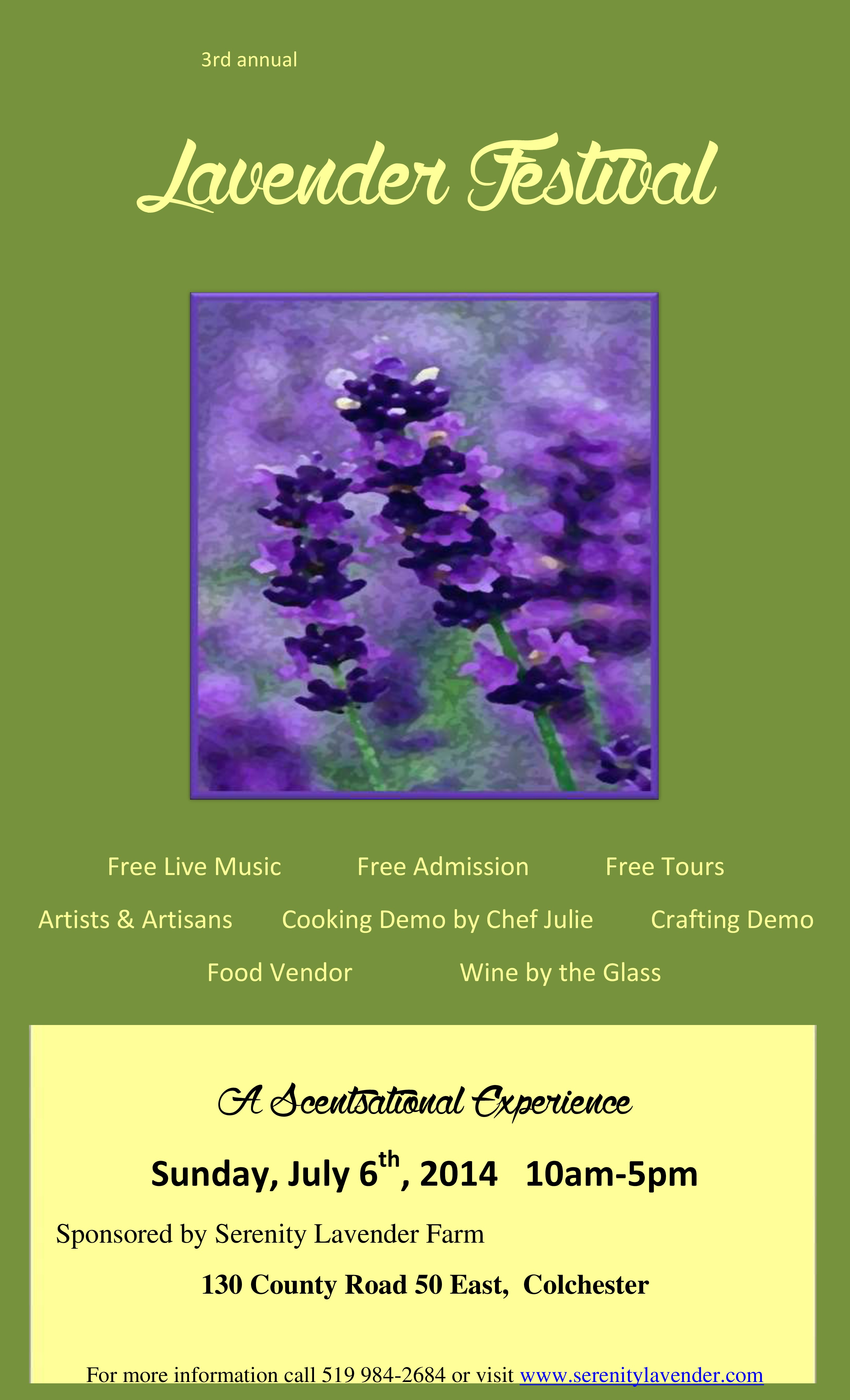 3rd annual lavender festival poster-page-0