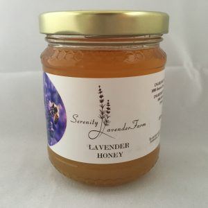 100% natural lavender honey