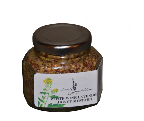 White wine lavender honey mustard