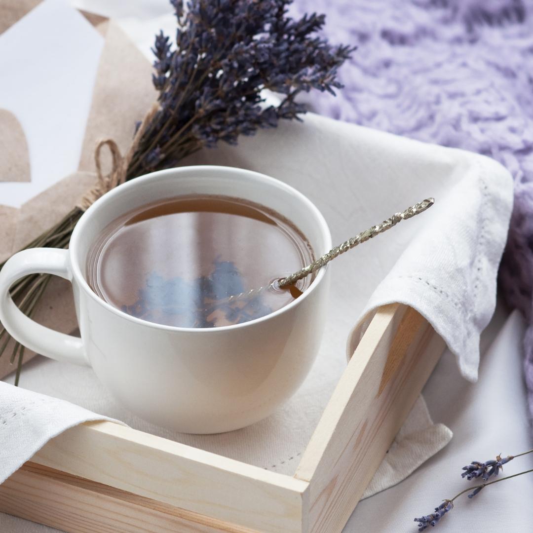Lavender blended fair trade tea