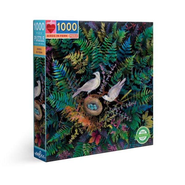 Birds in Fern by Eeboo