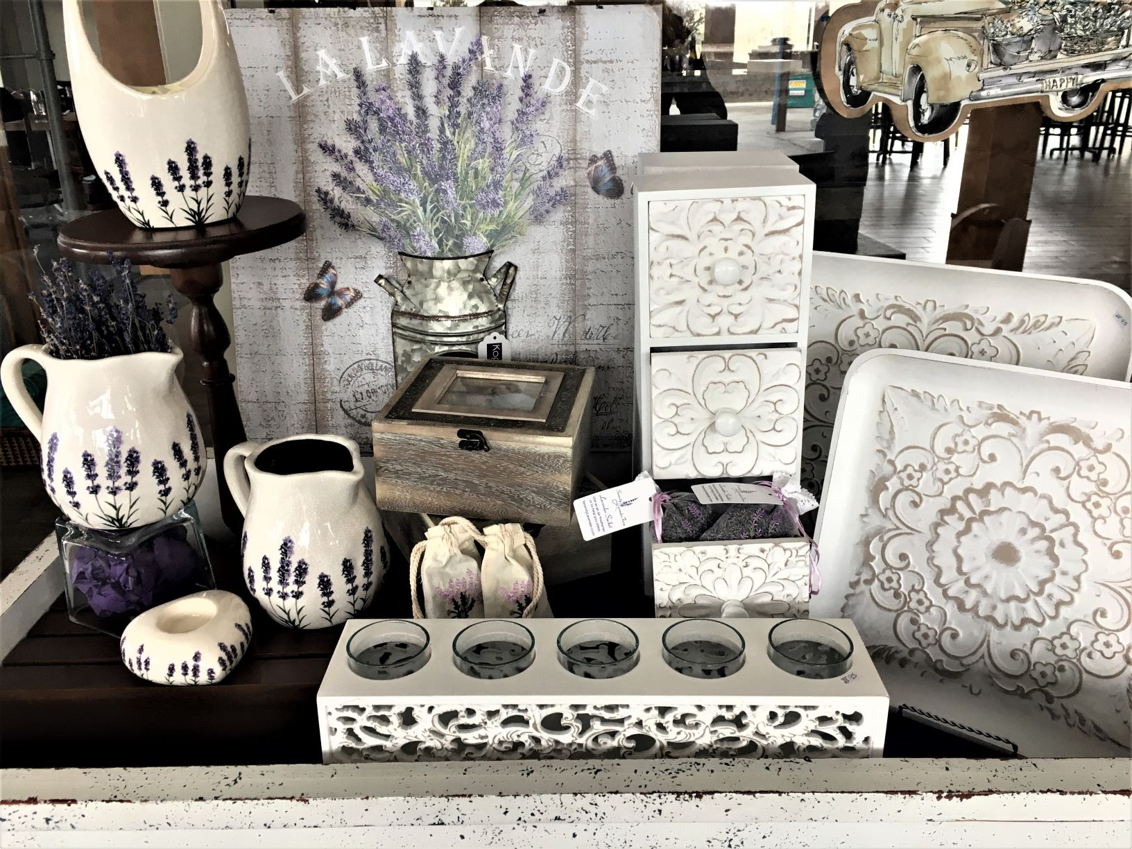 Gift Shop at Serenity Lavender