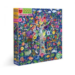 100o piece puzzle by Eeboo - Tree of Life