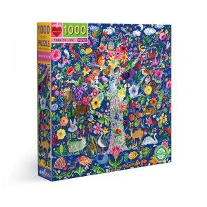 100o piece puzzle by Eeboo - Tree of Life