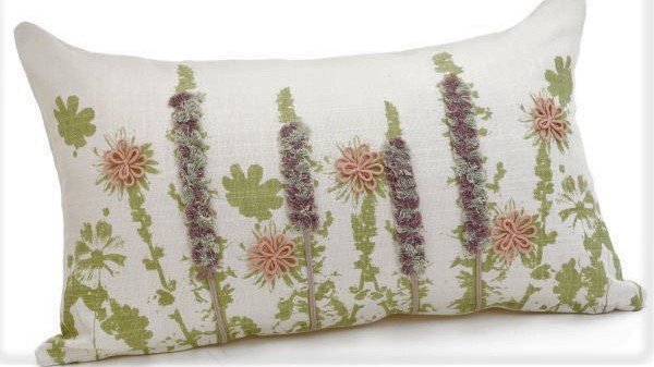 Cushion with lavender