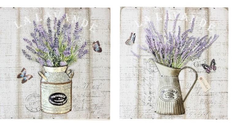 Home Decor - Lavender Canvas Art