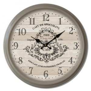 Traditional cafe wall clock