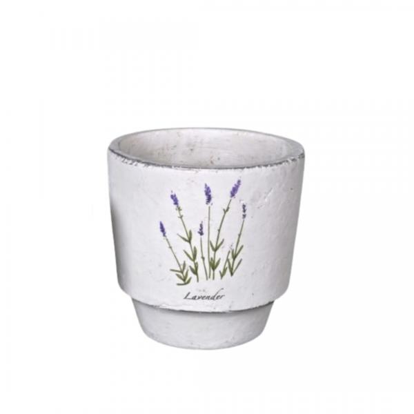 Medium lavender design planter