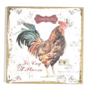 Rooster Canvas Art