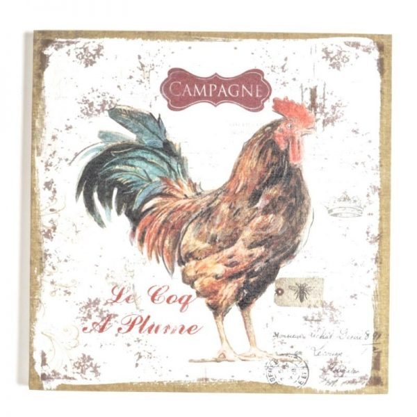 Rooster print ft