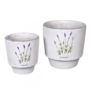 Lavender planter pot