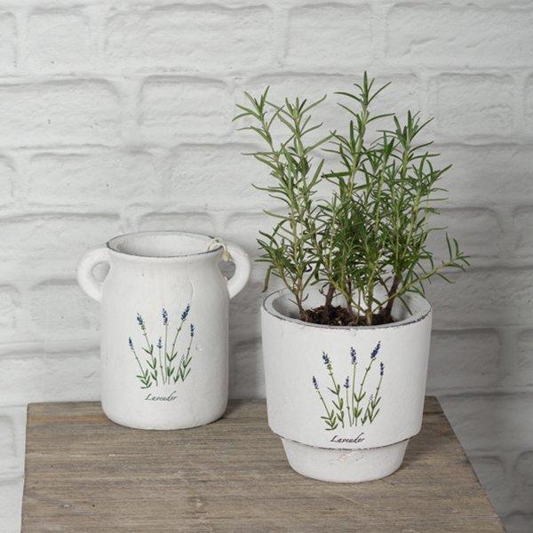 Lavender planter pot