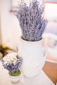 Add instant colour to your room with dried lavender