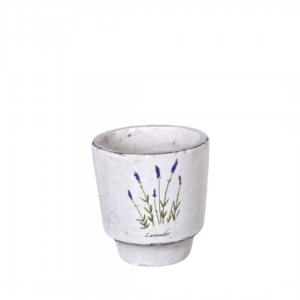 Lavender decor planter